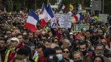 Протести срещу изискванията за COVID-паспорти във Франция и Италия