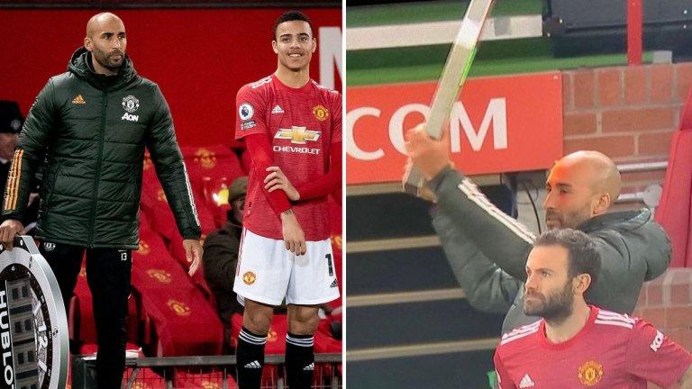 Обяснено: Как светлинното табло се оказа в ръцете на третия вратар на Юнайтед