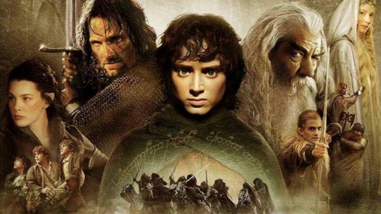 """Властелинът на пръстените: Задругата на пръстена / The Lord of the Rings / The Fellowship of the Ring - 13 номинации през 2002 г.   Първият филм от величествената трилогия на Питър Джаксън по романите на Дж. Р.Р. Толкин получи общо 13 номинации - включително за най-добър режисьор и най-добър филм. За съжаление, спечели само в четири категории - за сценарий, операторско майсторство, грим и визуални ефекти. Но дори това е достатъчно голямо постижение за представител на жанра фентъзи-блокбъстър.   Макар че """"Задругата"""" държи вътрешния рекорд по брой номинации, последното заглавие от трилогията - """"Завръщането на краля"""" - има най-много награди, цели 11 статуетки от 11 номинации."""