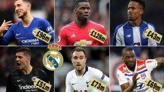 """Реал Мадрид подготвя мащабна селекция за над половин милиард евро. Вижте в галерията може да изглеждат """"кралете"""" през следващия сезон..."""