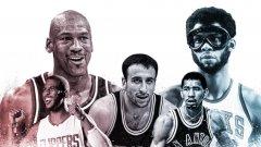 Вижте в галерията как се подреждат легендите на НБА спрямо мястото, от което тръгнаха като професионалисти през драфта