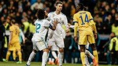 Кристиано Роналдо обичаше да наказва Буфон. Как ли биха го приели в Торино?