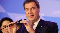 Партньорите на Меркел в управлението печелят само 34 на сто от гласовете