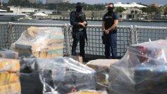 Арестуваха българин на кораб, пренасящ 1400 кг кокаин