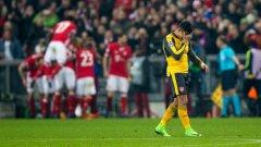 Алексис Санчес беше най-добрият за Арсенал, но беше твърде самотен в предни позиции и накрая изглеждаше отчаян. Може ли поражението да е краят на Венгер в Арсенал и може ли Байерн да спечели Шампионската лига? Ето пет извода от мача: