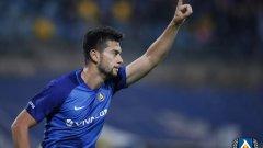 Голмайсторът на първенството Станислав Костов се отчете с нови два гола