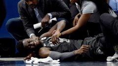 Жестока контузия помрачи вечерта в НБА (ВИДЕО)