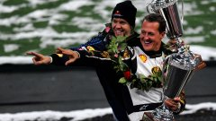 Фетел: Шумахер беше по-добър от Хамилтън