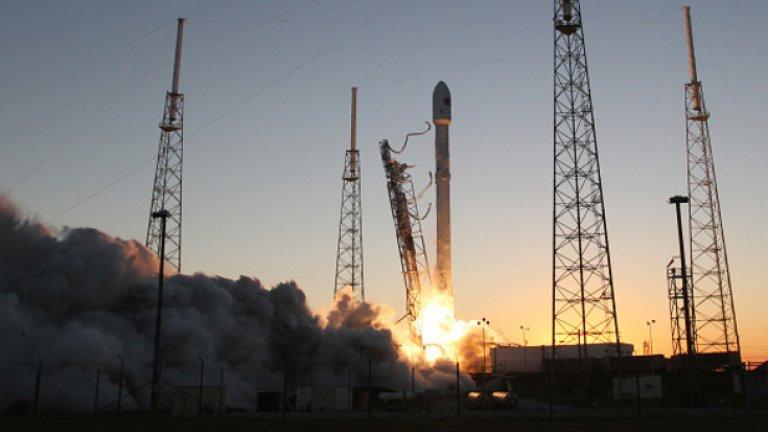 Falcon9 трябваше да достави капсула с храна и оборудване на МКС