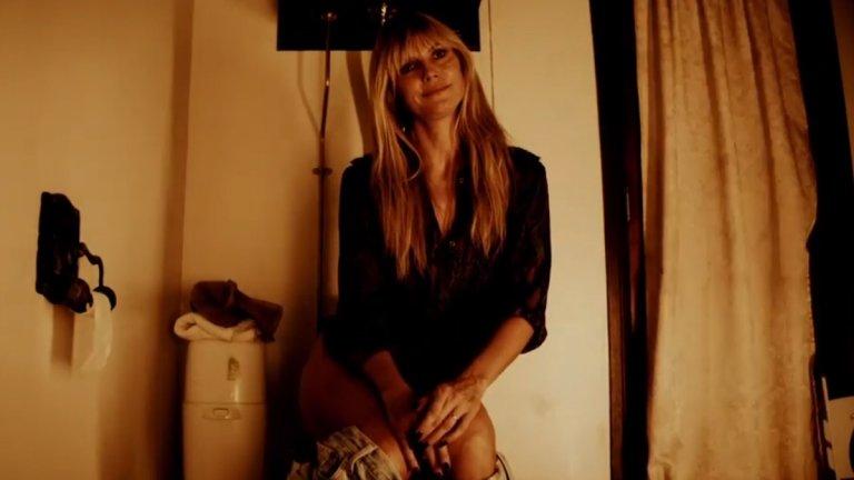 Кошмарът на Хайди Клум този Хелоуин: Без тоалетна хартия и със зомбирано семейство