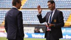 Йеро трябваше спешно да заеме треньорския пост, но Испания не стигна далеч и той се отказа отново да бъде директор