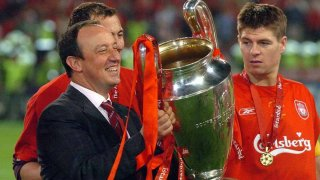 Бенитес бе начело на Ливърпул в най-великата вечер в клубната история.