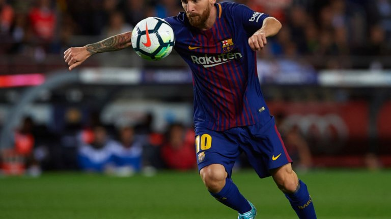 Лионел Меси отбеляза общо 119 гола за Барселона (а в същия ден, когато Палас победи Ливърпул, аржентинецът закръгли 500 гола за Барса)