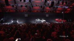 Tesla представи Model 3 - достъпният електромобил с базова цена от 35 000 долара