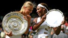 17-годишната Мария победи Серина на Уимбълдън 2004, след което надигра американката само още веднъж в 20 двубоя помежду им.