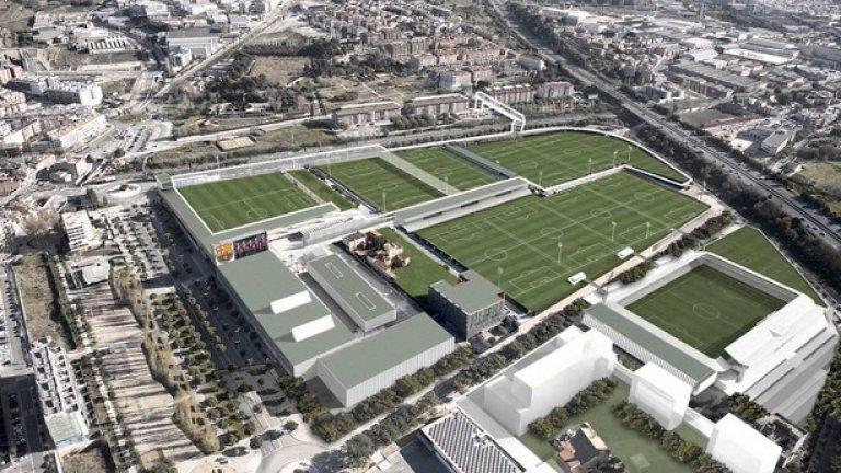 Тренировъчният комплекс на Барса погълна около 70 млн. евро.