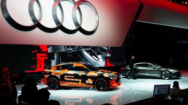 Audi изостава в електрическата надпревара и има спешна нужда от смяна на курса