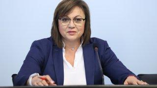 Нинова: няма да има стабилно правителство без БСП