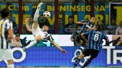 Въпреки нулевия резултат дербито на Италия не бе лишено от атрактивност