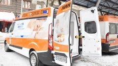 Линейката е дарение от Аксон България, които представляват компанията-производител на млека за кърмачета и малки деца Milupa