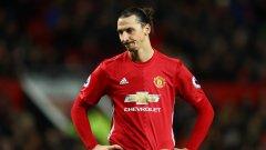 Ибрахимович няма как да е доволен от поредното разочароващо равенство на Манчестър Юнайтед през сезона