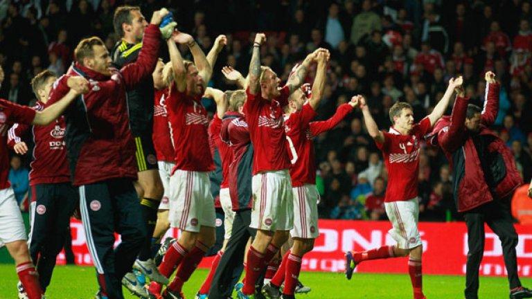 """През октомври """"Бандата на Олсен"""" изненадващо победи Португалия с 2:1 и се класира директно за Евро 2012"""