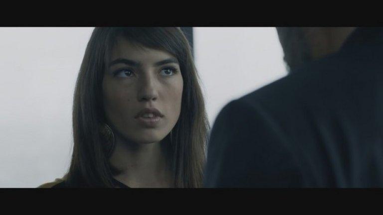 Анжела Недялкова в ролята на Женя