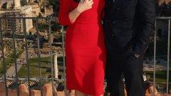 """Мексиканското правителство плати за промяна на сценария на новия филм за Бонд - """"Спектър"""". За 20 милиона долара екипът трябва да представи Мексико в положителна светлина. На снимката: Моника Белучи и Даниел Крейг по време на снимките на """"Спектър"""" в Рим"""