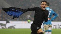 Лаутаро Мартинес влезе от скамейката и стана герой с победния гол