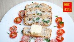 Солен кекс с риба тон и маслини