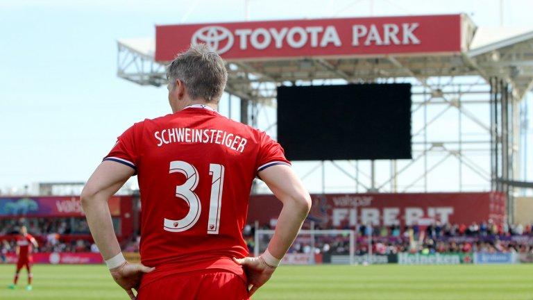 На Бастиан Швайнщайгер не му провървя в Манчестър Юнайтед. Но сега е №7 по заплата в МЛС. Вижте кои са в топ 10...