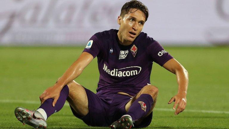 Юнайтед се разбра с Фиорентина за Киеза, но той не иска да напуска Италия