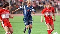 "През 90-те на гърдите на Левски беше ""ВИС-2"", а на тези на ЦСКА - ""Мултигруп"""