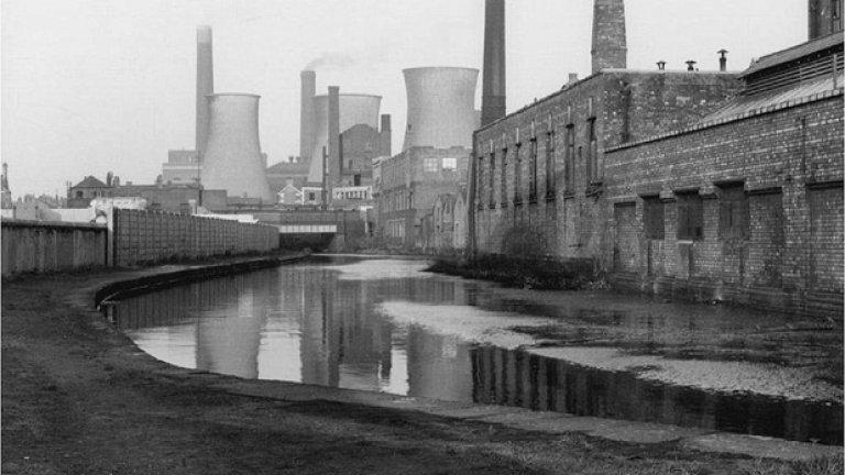 Преди 50 години на това място имаше фабрики и то бе индустриалната зона на Манчестър.
