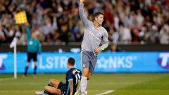 Роналдо вече може да се похвали с 32 хеттрика във всички турнири