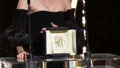 """Даян Крюгер получи наградата за най-добра актриса в """"Изневиделица"""" на кинофестивала в Кан. Още - вижте в галерията"""