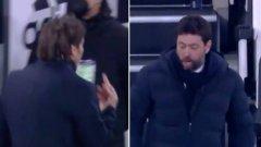 Обяснено: Как се стигна до скандала, псувните и средния пръст между Аниели и Конте