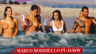 След раздялата с Белен Родригес, Бориело осигури доста работа на папараците. Често го улавяха в компанията на две-три и повече топ красавици.