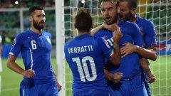 Точно изпълнена дузпа на Де Роси донесе нова победа с 1:0 за Италия