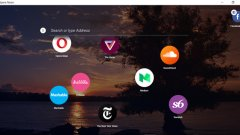 """Новото предложение за десктоп браузър от Opera предлага вместо прозорци икони или """"балончета"""". Може да се инсталира безплатно и е много лек и бърз"""
