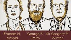 Тазгодишните лауреати на наградата са Франсес Х. Арнолд, Джордж П. Смит и Грегъри П. Уинтър