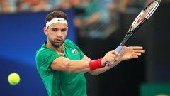 Григор започва на Australian Open рано сутринта в понеделник