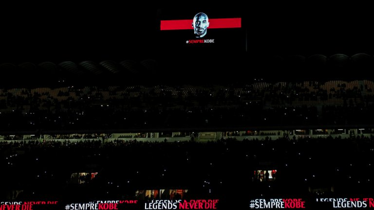 """""""Сан Сиро"""" почете по подобаващ начин Кобе, който беше фен на Милан"""