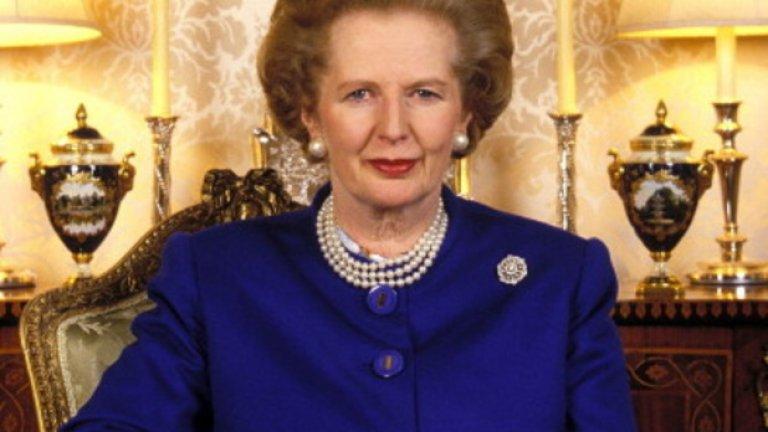"""Ако беше жива, на 13 октомври, Маргарет Хилда Тачър, една от малкото жени, носители на почетното рицарско звание """"Орден на жартиерата"""", щеше да навърши 90 години"""