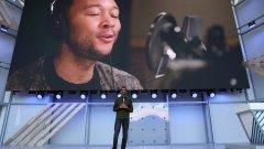 Сундар Пичай представя новите 6 гласа в Google Assistant, един от които е на Джон Леджънд