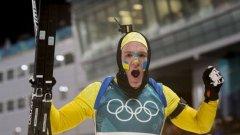 Себастиан Самуелсон е олимпийски шампион в щафетата 4х7,5 км и сребърен медалист в преследването от Зимните олимпийски игри тази година в Пьонгчанг.