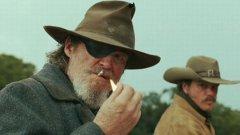 """Джеф Бриджис като алкохолизирания шериф в римейка на братя Коен на едноименния уестърн от 60-те """"Непреклонните"""""""
