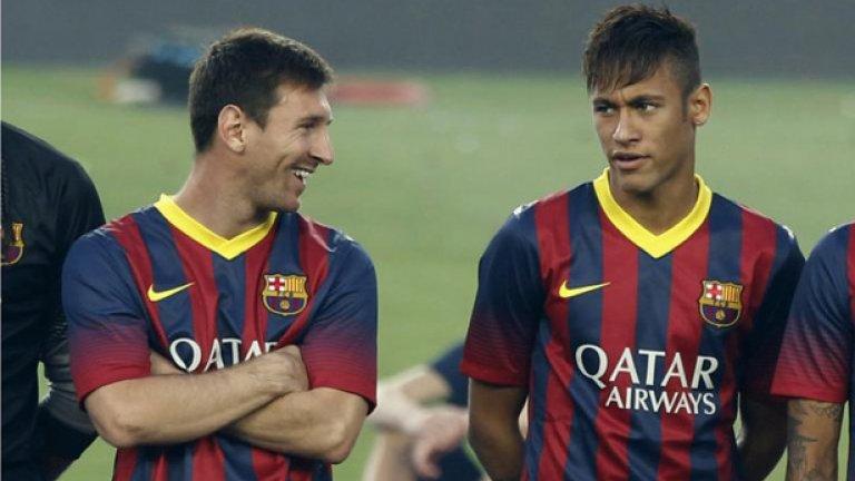 Меси и Неймар са на път да оформят една от най-смъртоносните нападателни двойки във футбола.