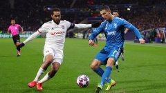 Има дата за реванша между Ювентус и Лион от Шампионската лига