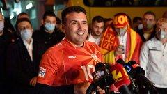 Заев нареди: По 10 хил. евро за футболистите на Северна Македония